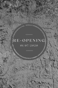LASE Re-Opening